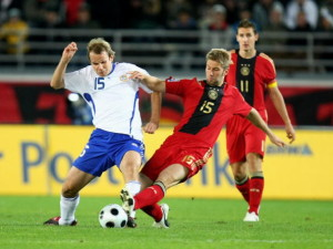 Finland v Germany - FIFA 2010 World Cup Qualifier